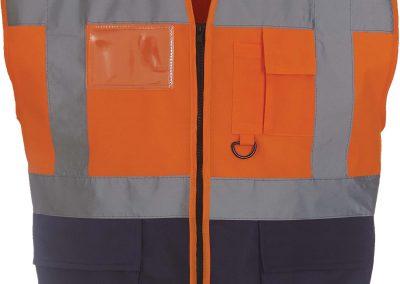 Orange - Navy