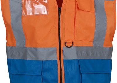 Orange - Royal Blue