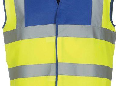 Royal Blu - Yellow